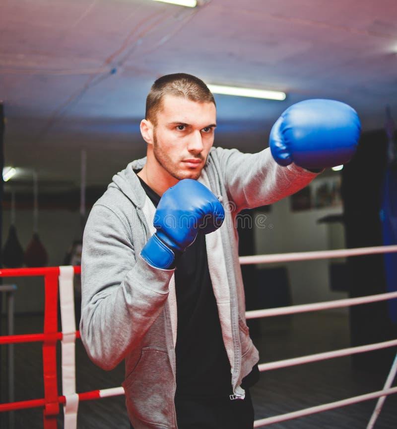 Boxeur de type de sports photographie stock libre de droits