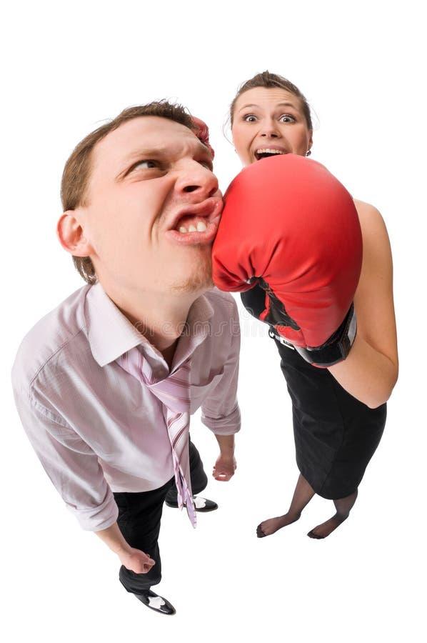 Boxing royalty free stock image