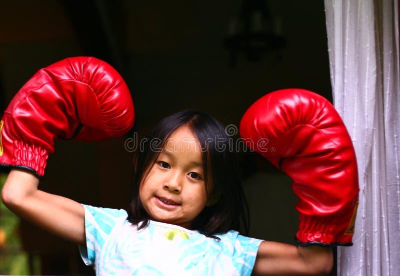 Boxing royalty free stock photo