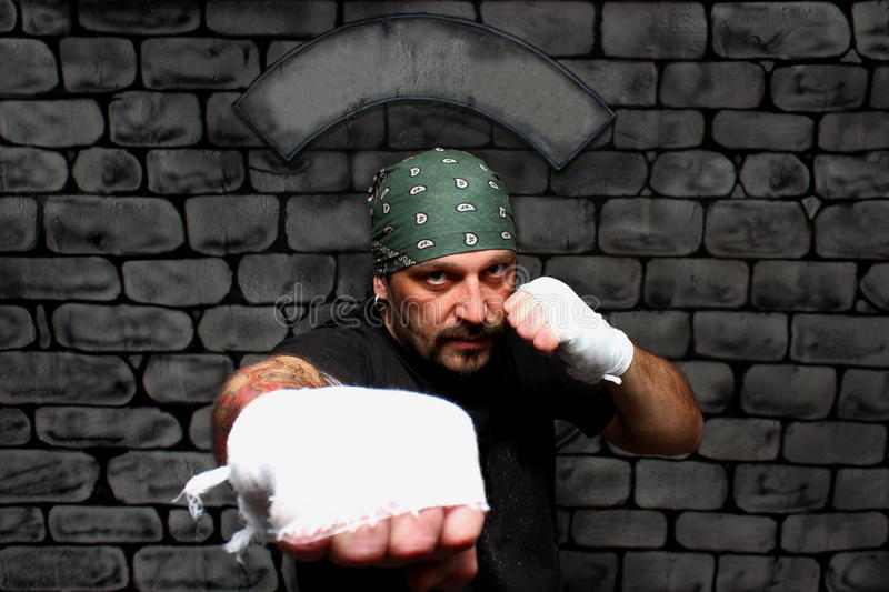 Download Boxing stock image. Image of combat, black, defense, high - 23206129