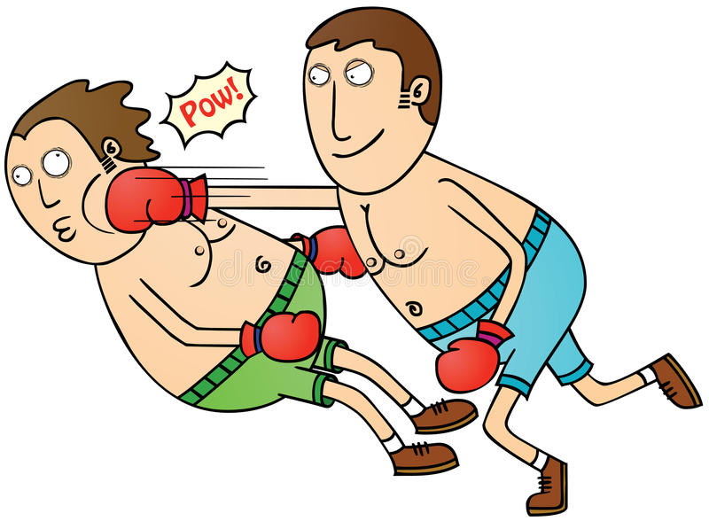 Download Boxing stock vector. Image of naked, punch, careless - 29308681