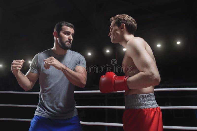 boxing immagine stock libera da diritti
