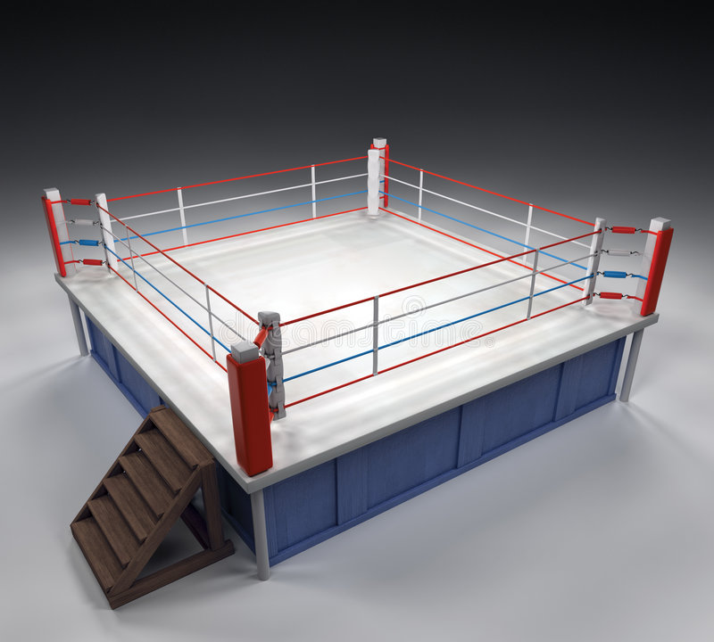 Download Boxing Arena stock image. Image of knockout, comparison - 4242745