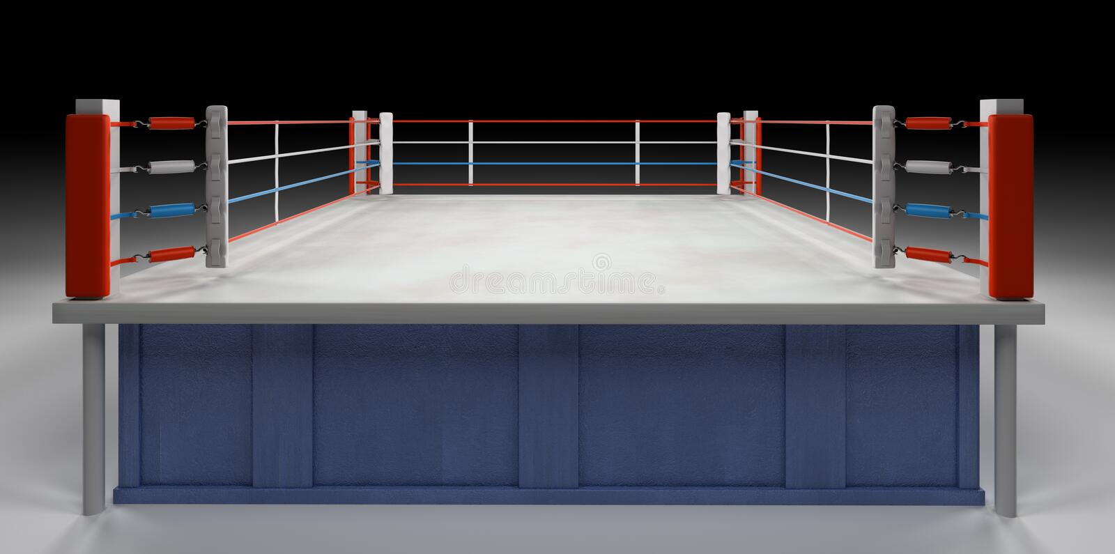 Boxing Arena royalty free stock images