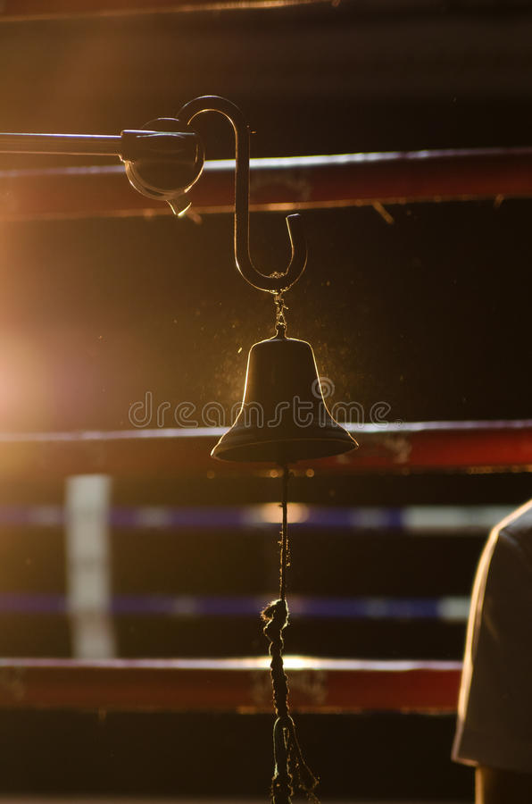 Boxing Bell stock images