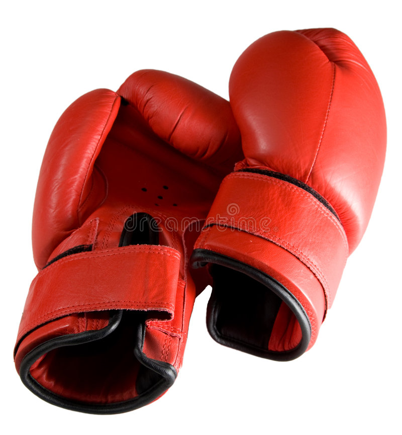 Boxing cloves royalty free stock photography
