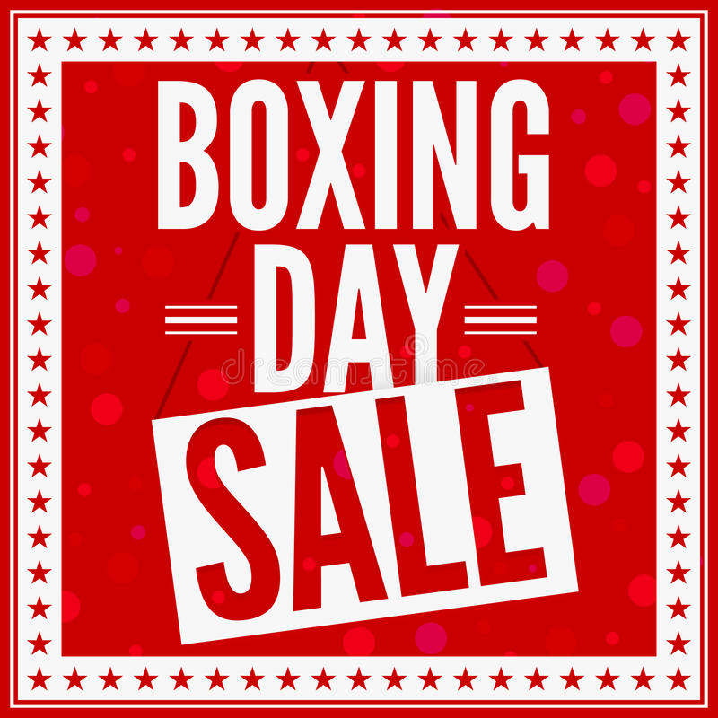 Free Boxing Day Sale Royalty Free Stock Image - 22279946