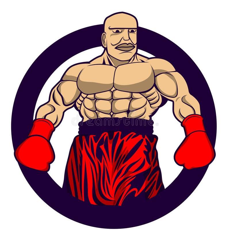 Boxing design. Charactor in eps10 format vector illustration