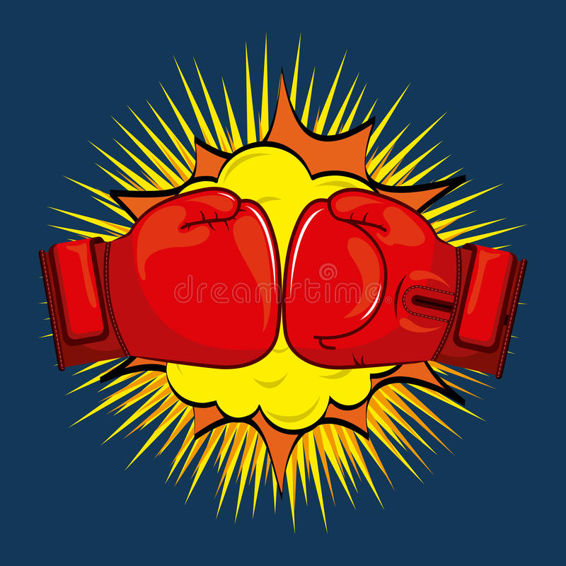 Boxing design. Boxing graphic design , vector illustration vector illustration