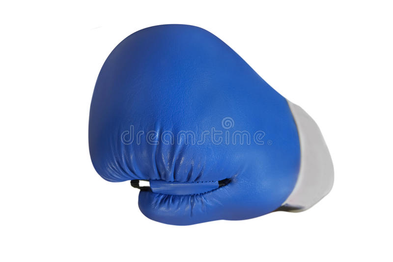 Boxing glove. Under the white background royalty free stock photos