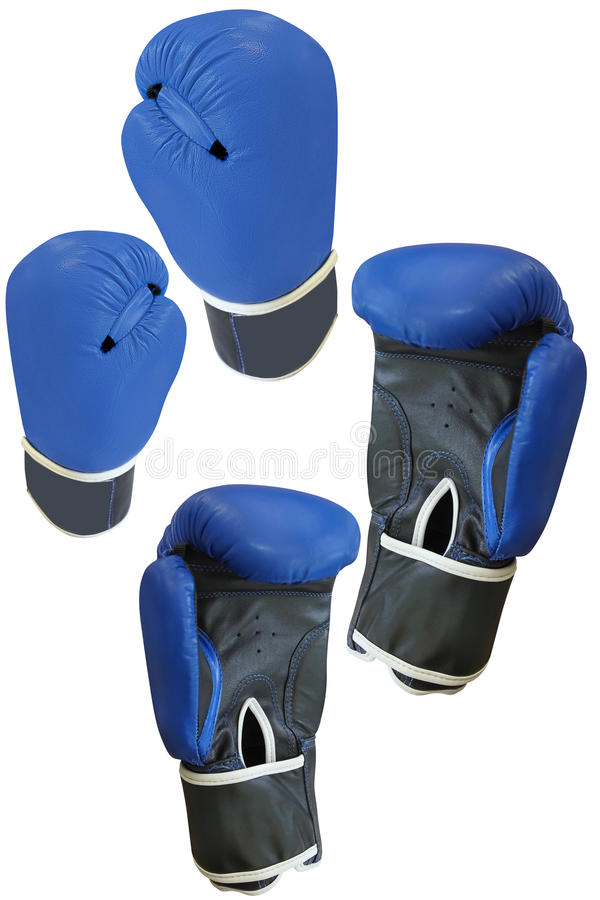 Boxing glove. Under the white background royalty free stock images