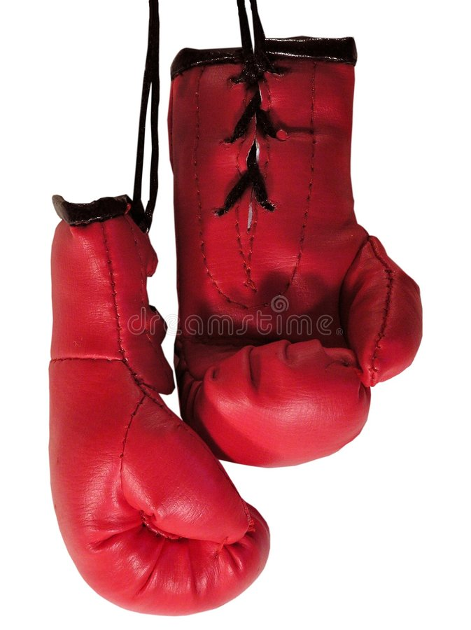 Boxing Gloves 3 stock images