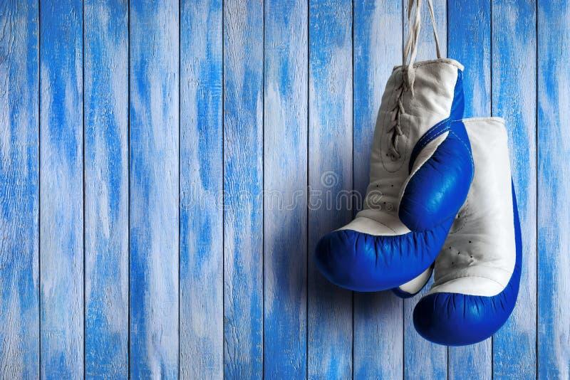 Boxing gloves. stock photos