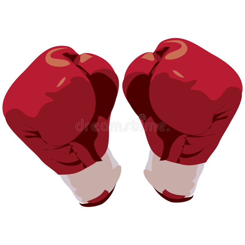Download Boxing Gloves With Clipping Path Stock Illustration - Illustration: 630701