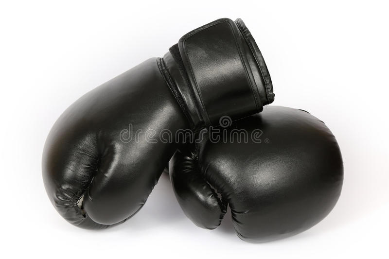 Boxing gloves isolated royalty free stock photo