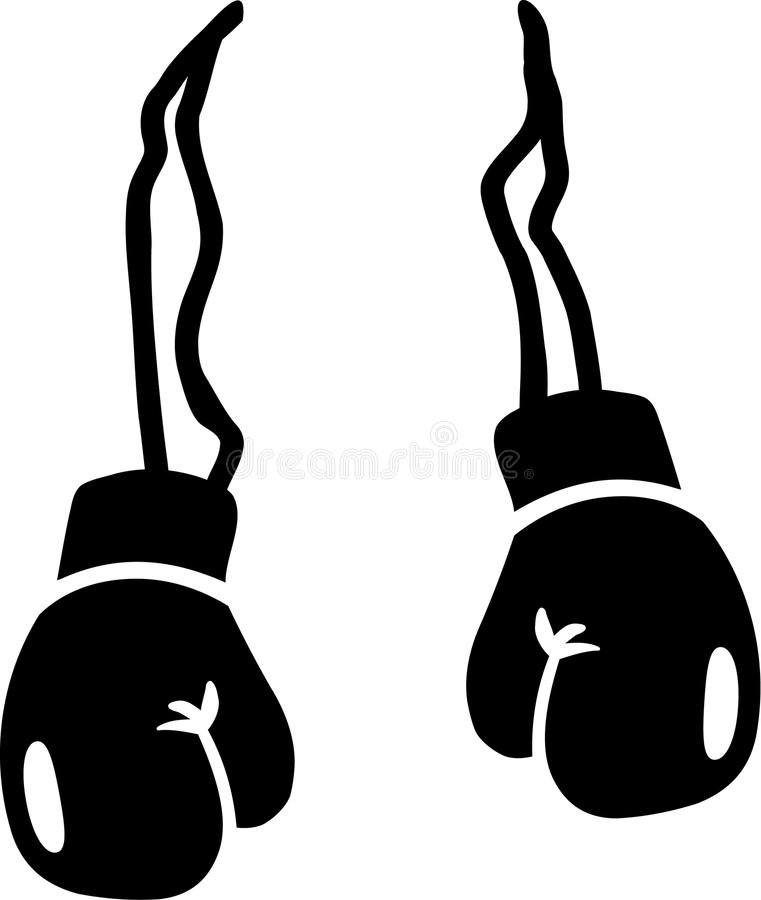 boxing gloves vector stock vector illustration of ring 85848396 rh dreamstime com boxing gloves clipart png boxing glove clipart free