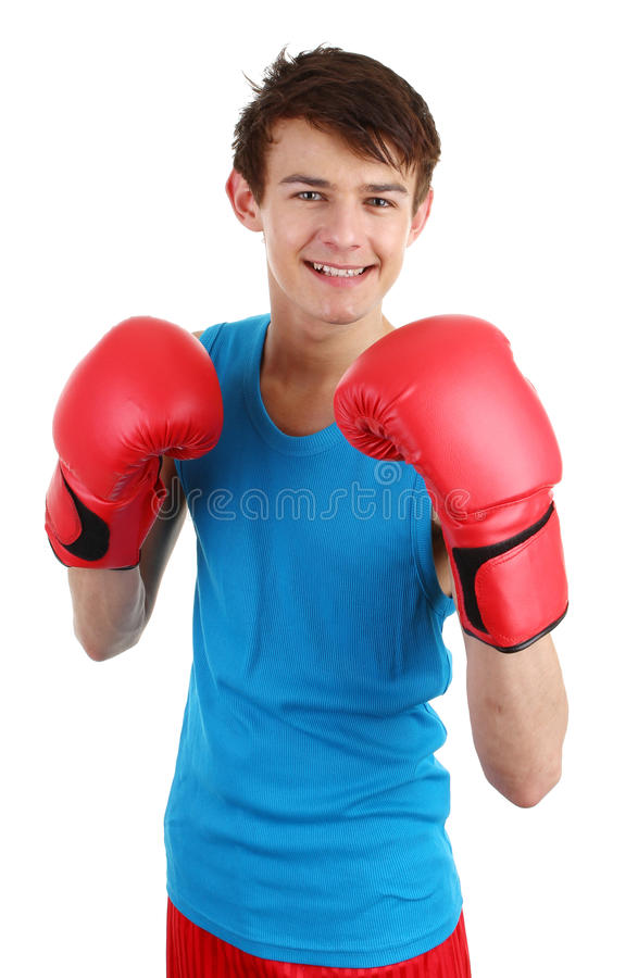 Download Boxing guy stock image. Image of isolated, boxing, action - 22692189