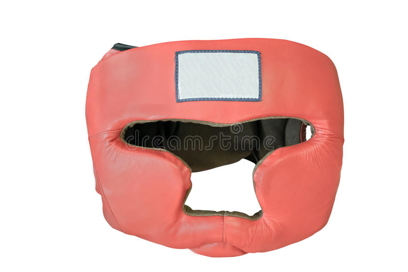 Boxing helmet. The image of boxing helmet stock images