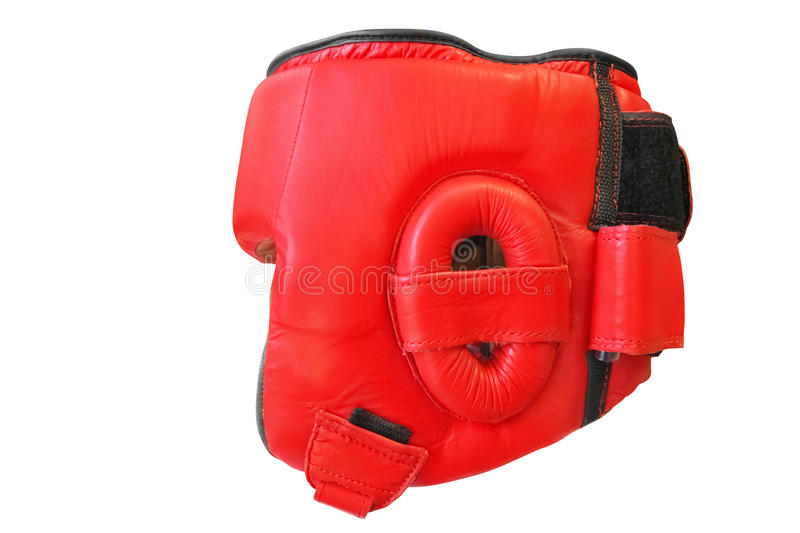Boxing helmet. The image of boxing helmet stock photography
