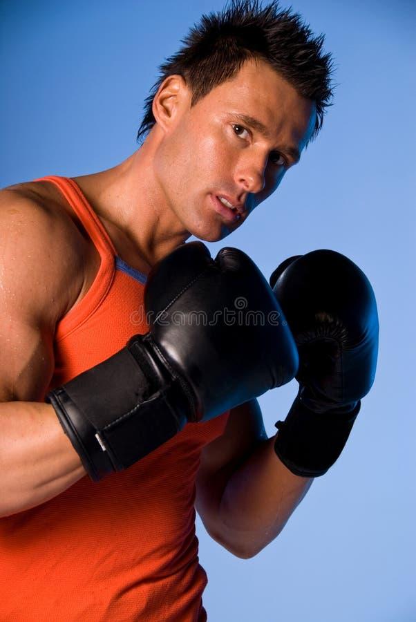 Boxing man.