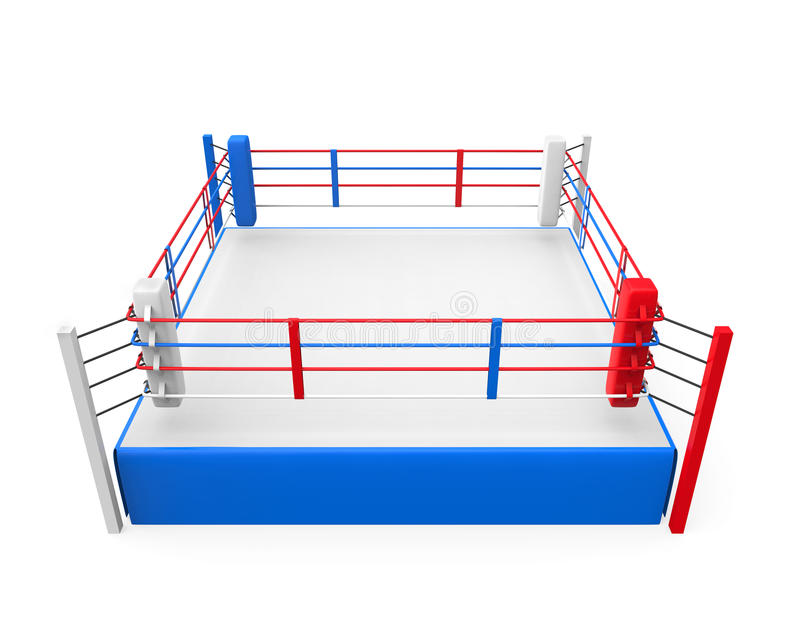Boxing Ring royalty free illustration