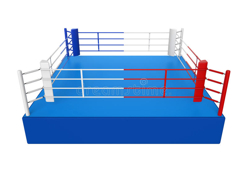 Boxing Ring Isolated stock illustration