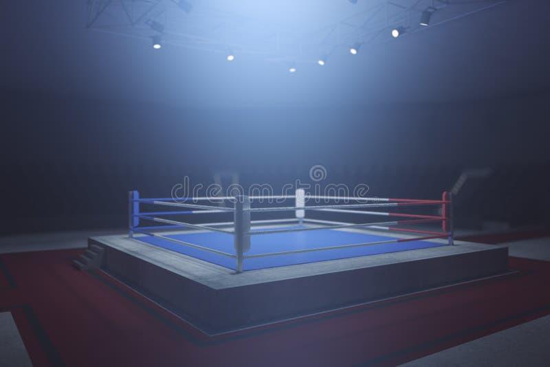 Boxing ring vector illustration