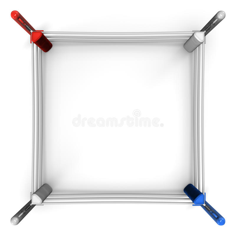 Free Boxing Ring Top View Stock Photo - 32886990