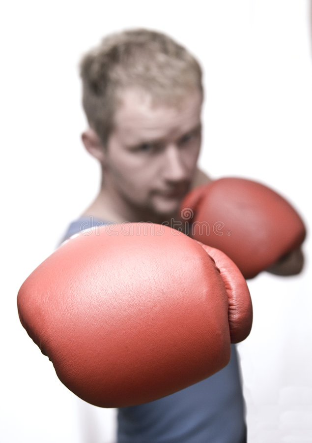 Free Boxing To The Sacks 06 Royalty Free Stock Photography - 6314107