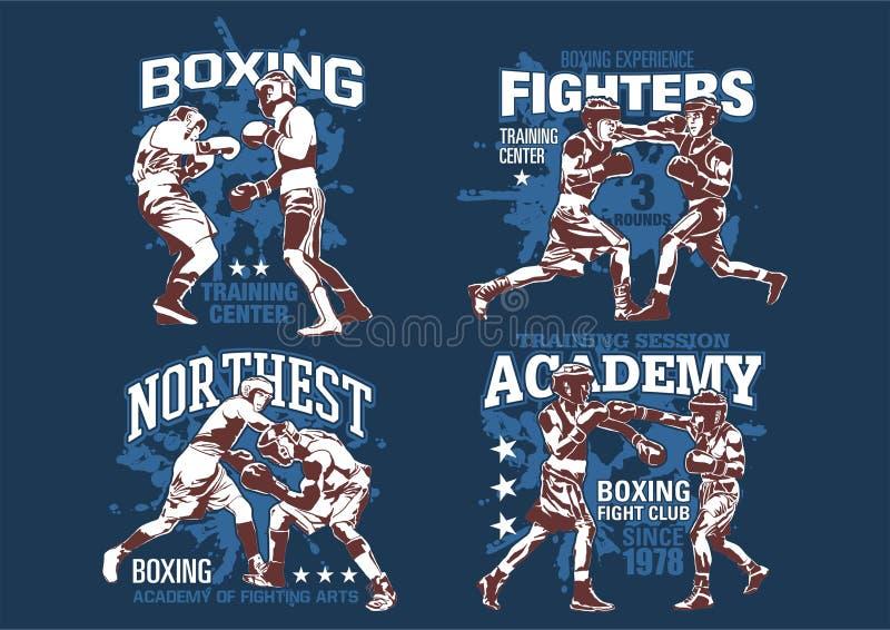 Boxing training academy stock photos