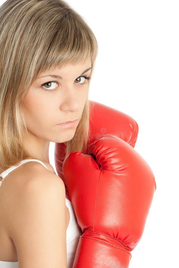 Download Boxing woman stock photo. Image of fail, women, shot - 13382004