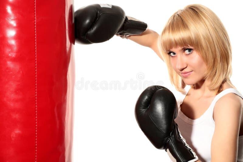 boxning royaltyfri bild