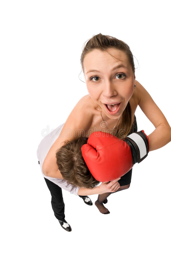 boxning arkivbild