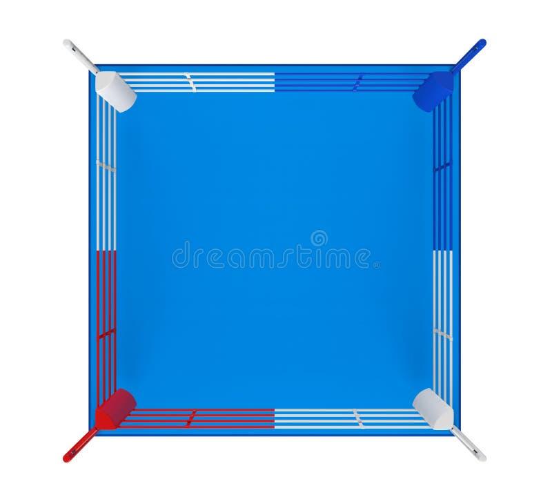 Boxning Ring Isolated vektor illustrationer