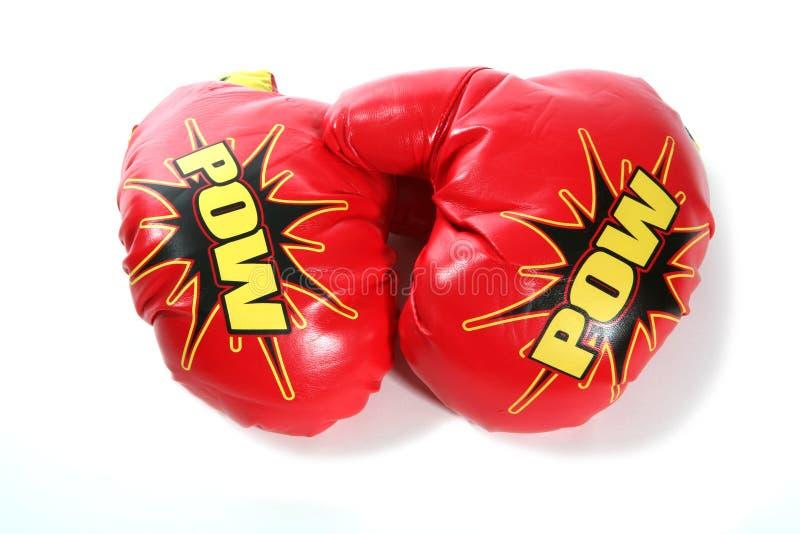 boxninghandskar arkivfoto