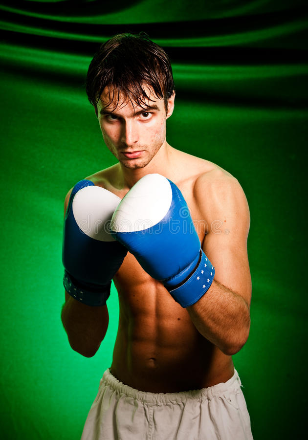 boxninghandskeman arkivfoton