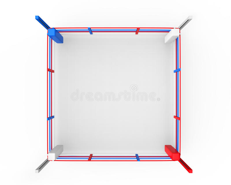 Boxningsring vektor illustrationer