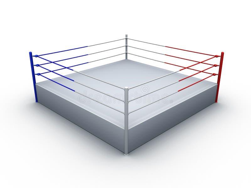 boxningsring stock illustrationer