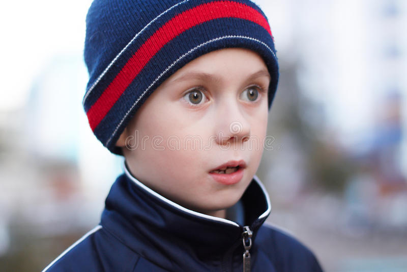 Download The boy stock image. Image of childhood, emotion, human - 11339189