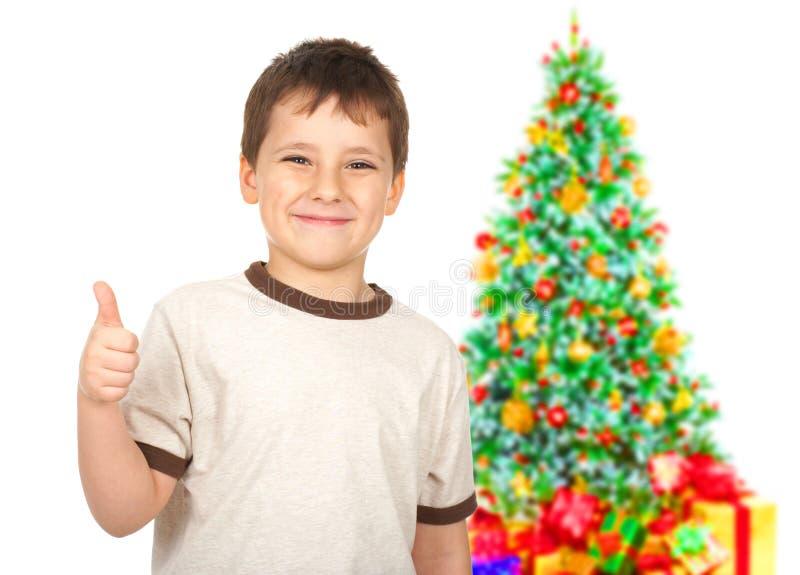 Download Boy stock image. Image of white, tree, christmas, xmas - 11634681
