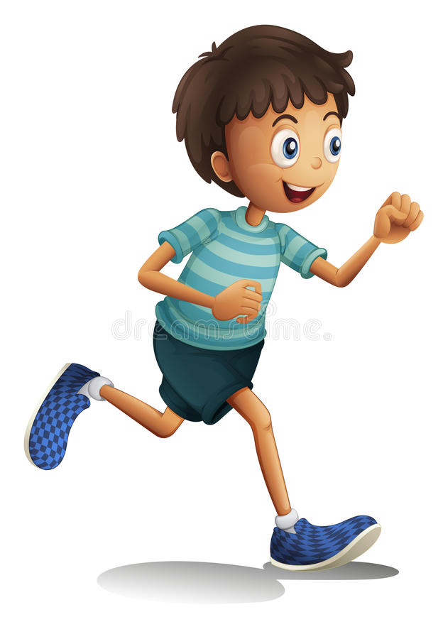 Download A boy stock illustration. Image of chinese, drawing, runm - 27648266