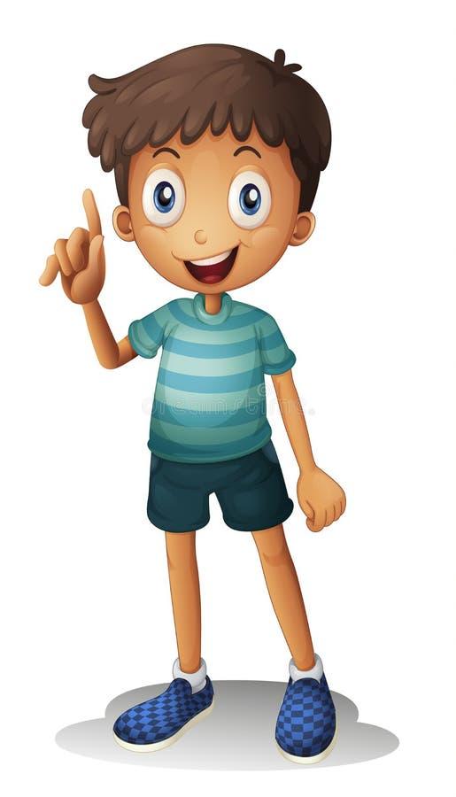 A boy vector illustration