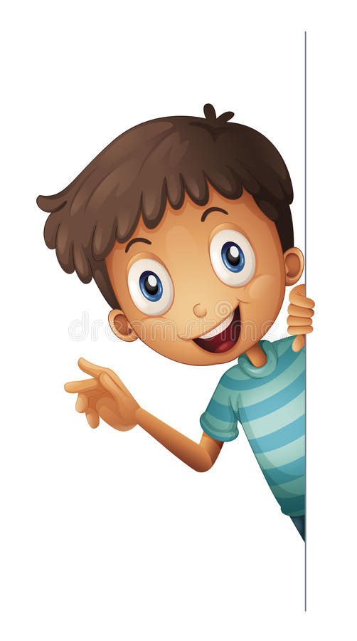 A boy stock illustration