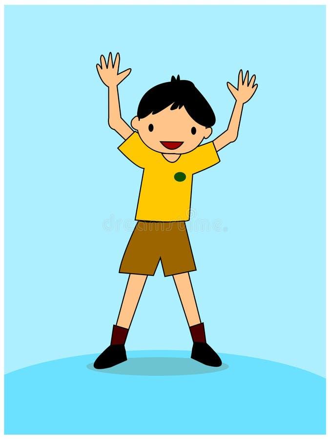 Download Boy stock illustration. Illustration of youth, eyes, baby - 455920