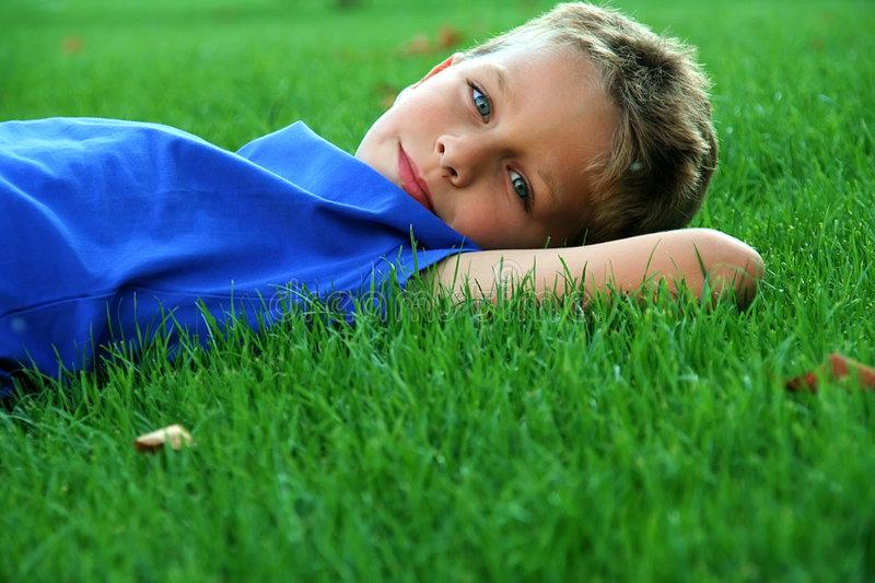 Download Boy stock image. Image of laying, white, caucasian, cute - 9196353