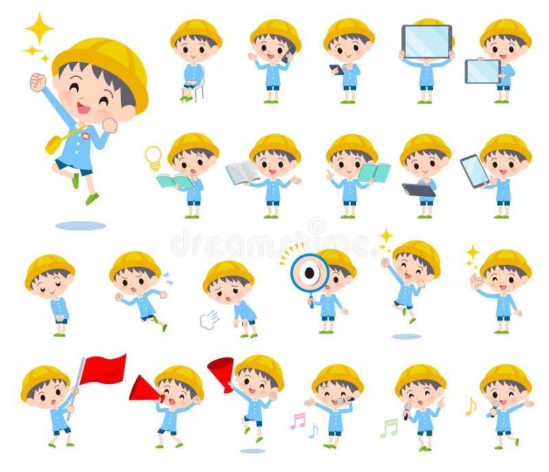 Boy_Action de la guardería libre illustration