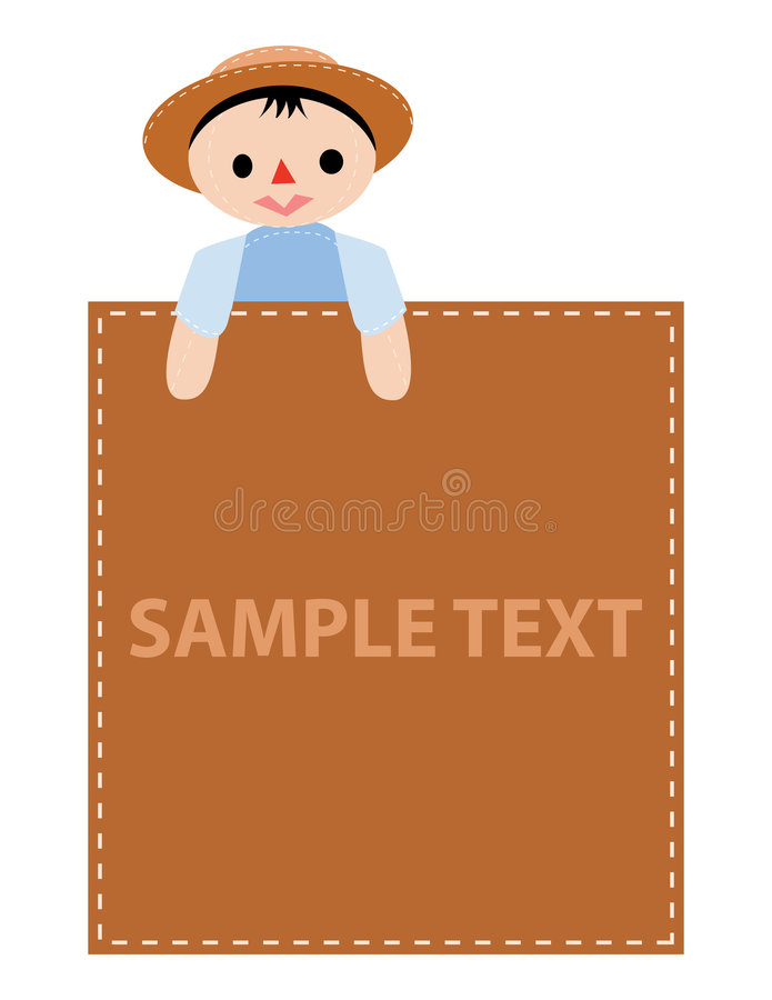 Download Boy advertise stock vector. Image of display, human, education - 8968737
