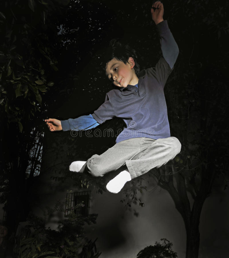 Download Boy in Air stock photo. Image of leap, gymnastics, spring - 31418630