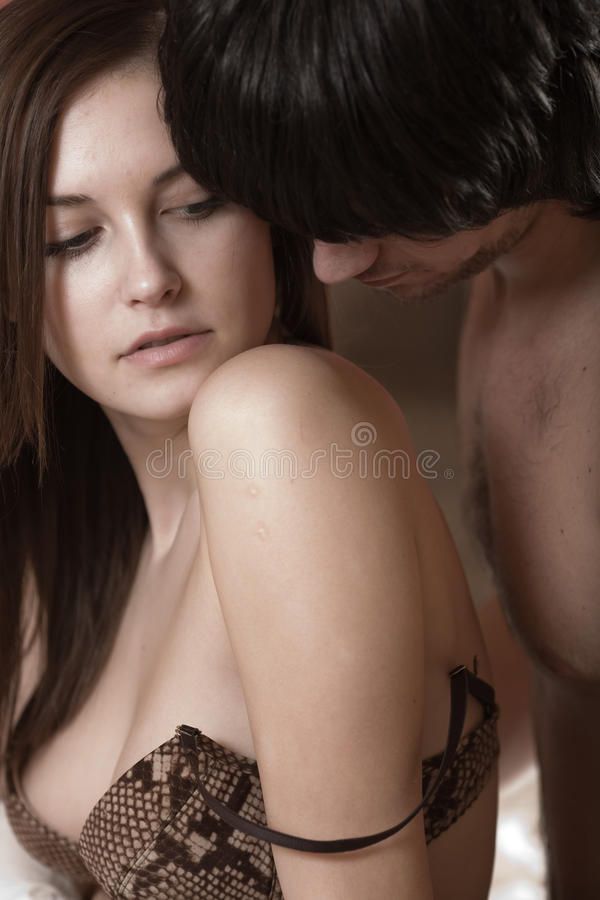 Free Boy And Girl In Bra Stock Images - 13804354