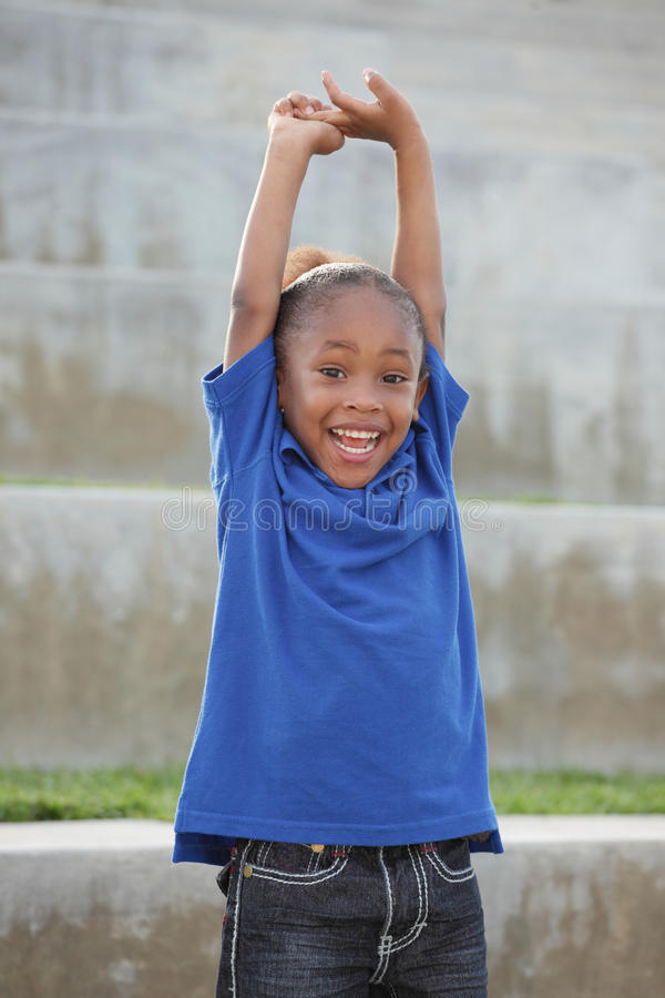 Download Boy with arms outstretched stock image. Image of composition - 21896627
